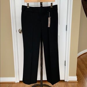 NWT Ann Taylor Loft black pants.